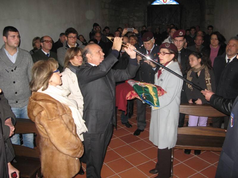La Sezione Paracadutisti di Caserta cointestata a Polverino e Gambaudo