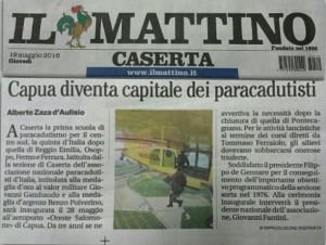 Capua diventa capitale dei Paracadutisti