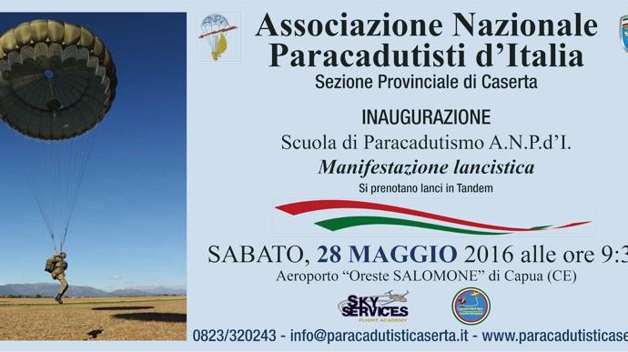 Inaugurazione Scuola di Paracadutismo A.N.P.d'I.