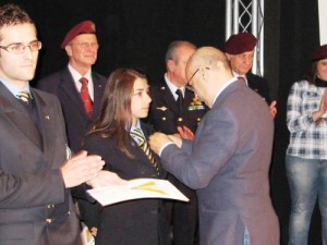 Consegna Brevetti Paracadutismo Caserta 2009