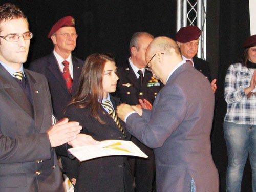 Elogio dal Gen. Fantini