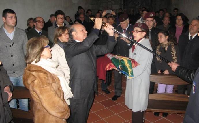 La sezione paracadutisti cointestata a Polverino e Gambaudo