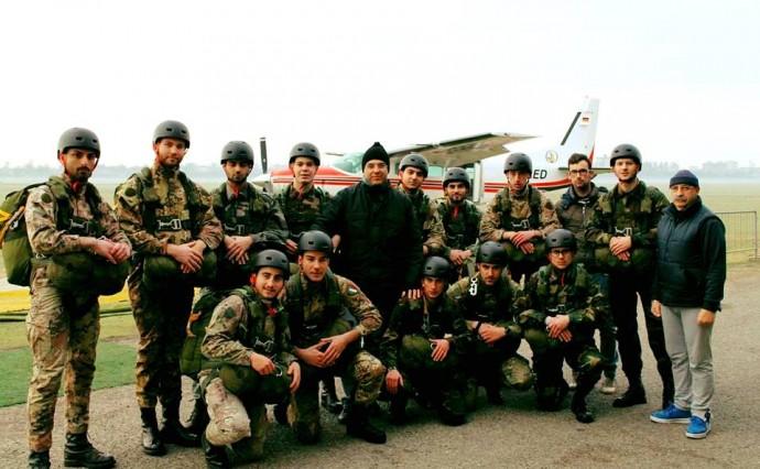Brevettati 13 nuovi Paracadutisti