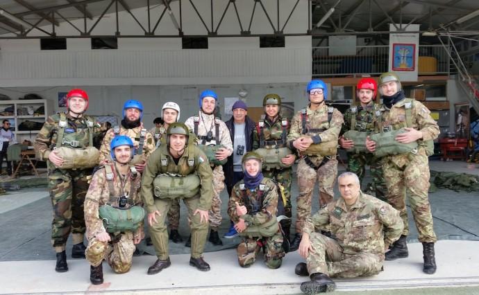 Concluso il 5° Corso di Paracadutismo