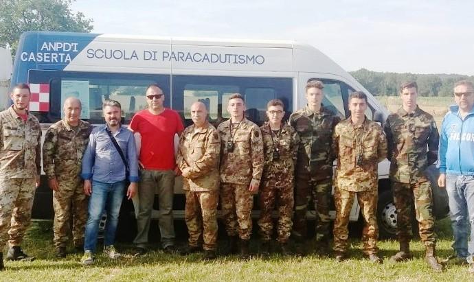 Concluso il 2° corso allievi paracadutisti 2018