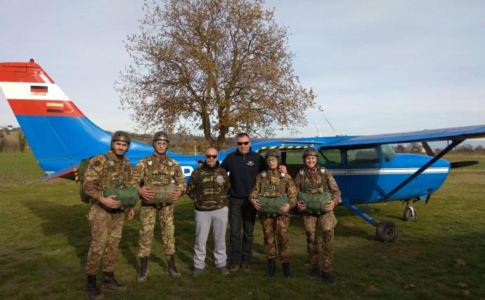 4° corso 2018 di abilitazione al lancio con paracadute
